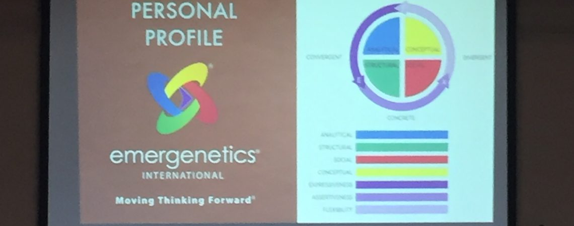 The Personal Emergenetics Profile